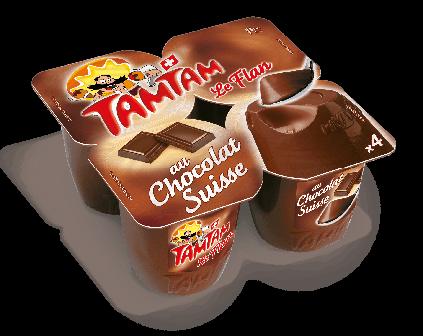 Découvrir les Flan au Chocolat Suisse